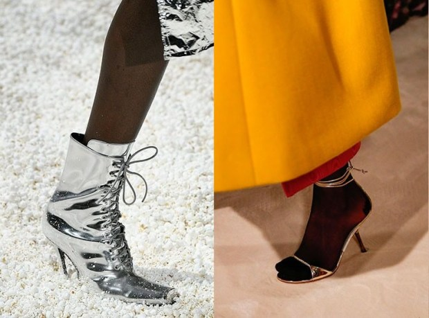 Silver footwear winter fall 2019 2020