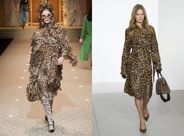 Fall winter 2019 2020 fashion trends: leopard print