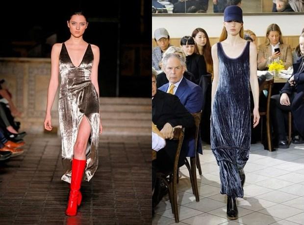 Fashion trends 2020 velvet