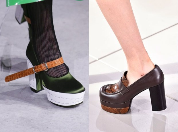 Fall winter footwear 2019 2020 massive platforms
