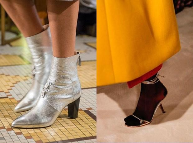 Fashion silver footwear 2020