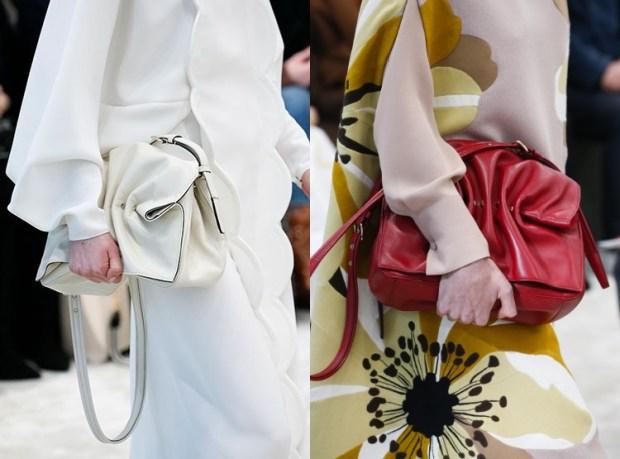 Designer bags fall winter 2019 2020 drapery