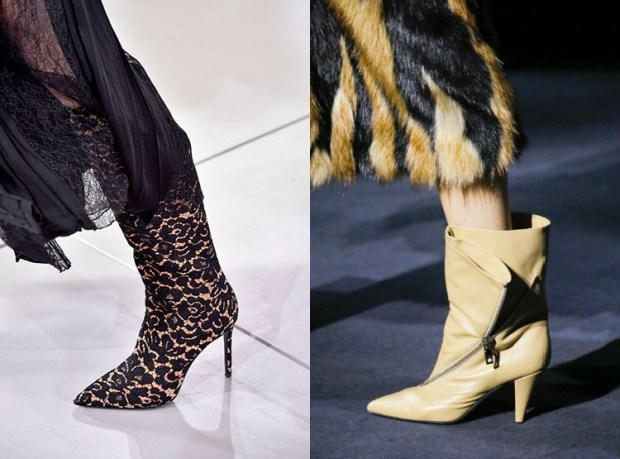 Boots for women 2019 2020 fall winter pointed toe