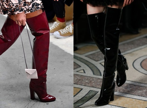 Over the knee boots 2020 glitter