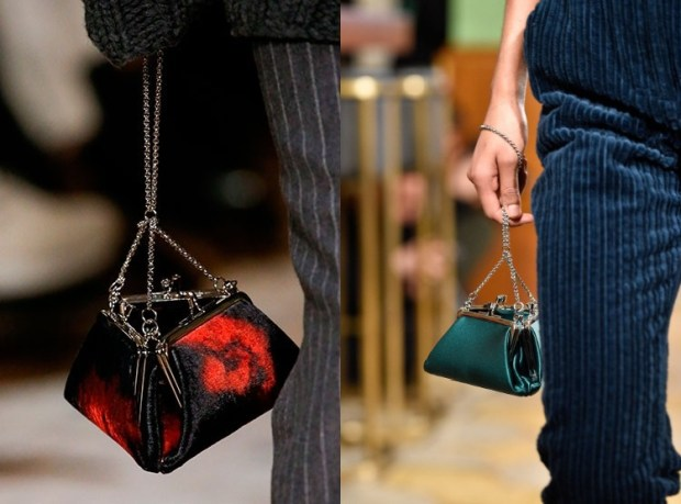Elegant festive purse