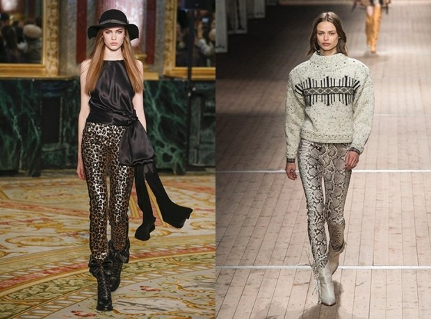 Pants for women 2020 animal print