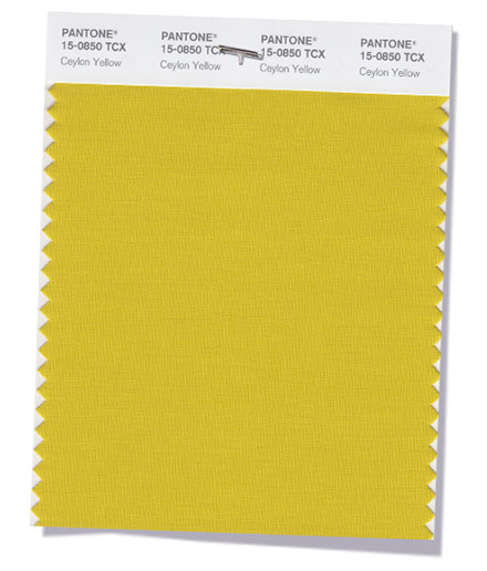 Ceylon Yellow color