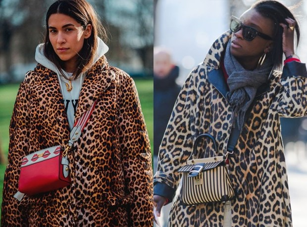 Street style fashion trends 2020 leopard
