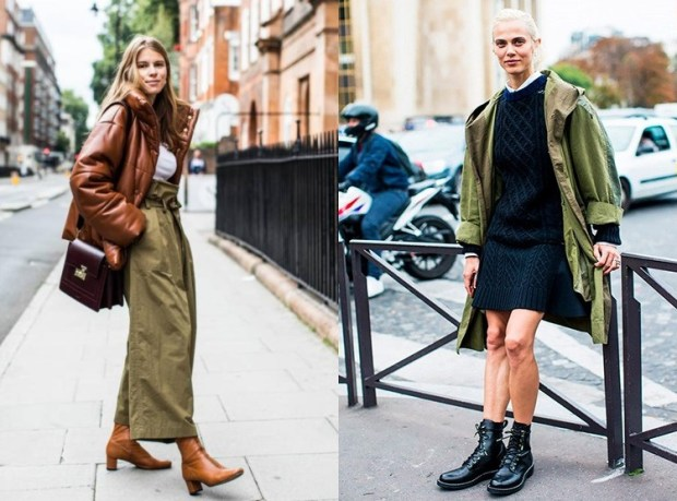 Street style trends military trends