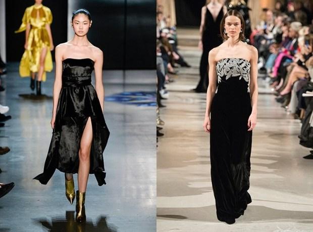 Evening fashion dresses 2020 bustier
