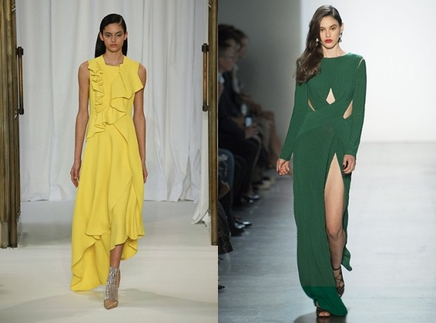 What evening dresses color to wear in 2020