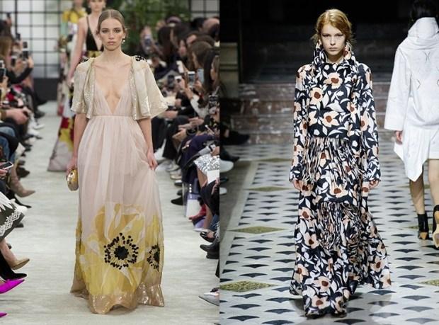 Evening gowns fall winter 2019 2020 print