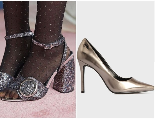 Heeled shoes for New Year