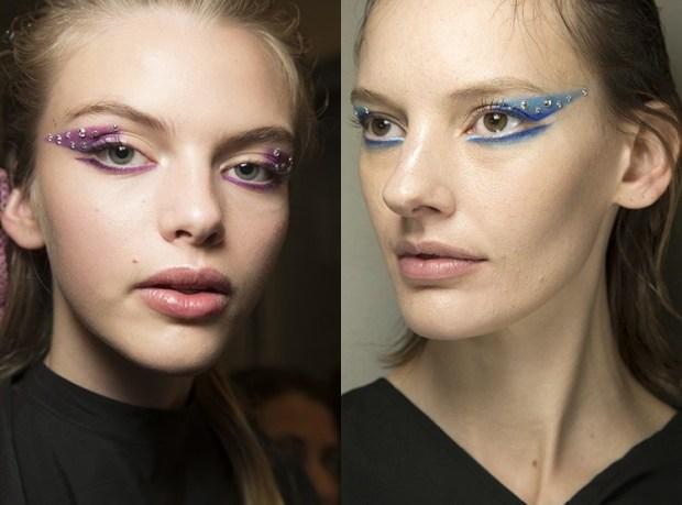 2019 Makeup colored eyeshadows