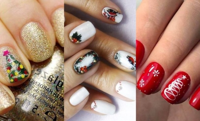 Holiday Nail Art Designs and Ideas 2020