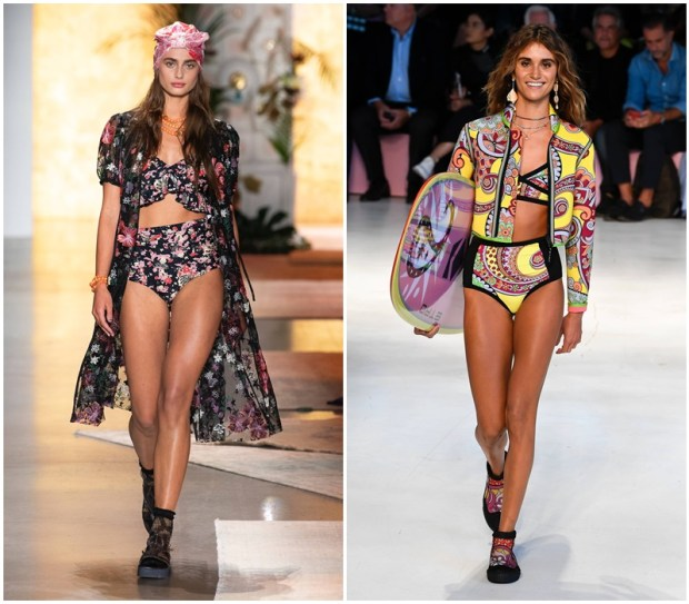 2019 swimsuits with floral prints
