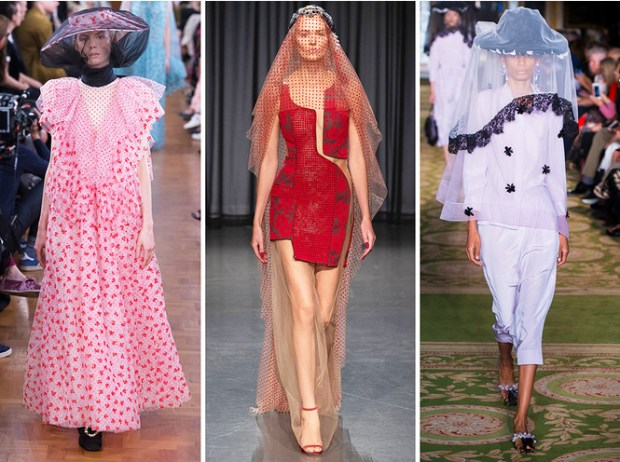 The style of the 40's at London Fashion Week