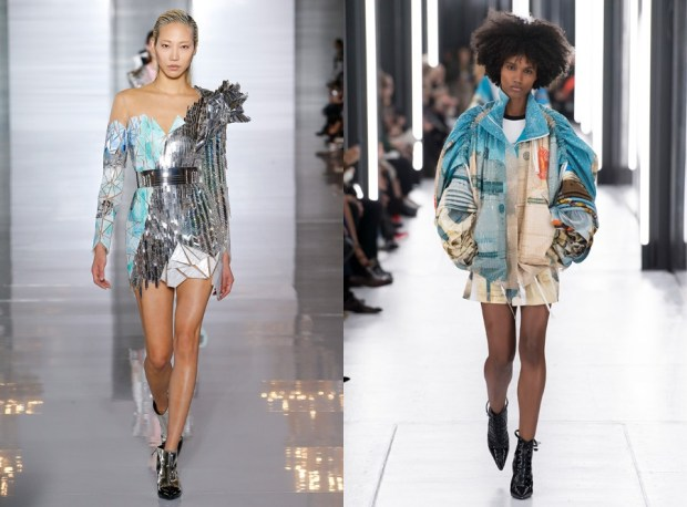 Paris fashion week spring summer 2020 futurism