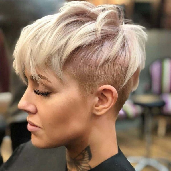 Short hair haircuts for ladies