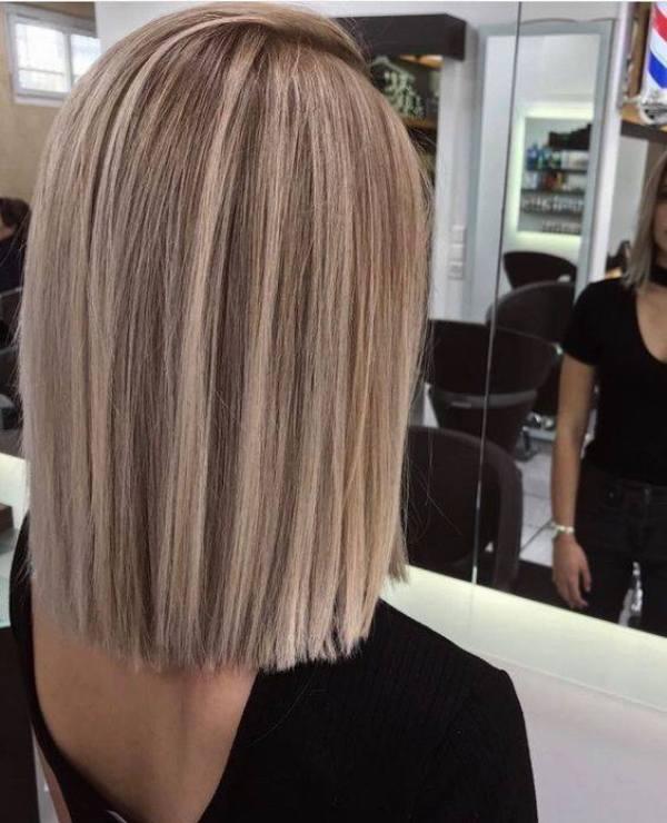 Bob haircut 2020 medium lenght hair
