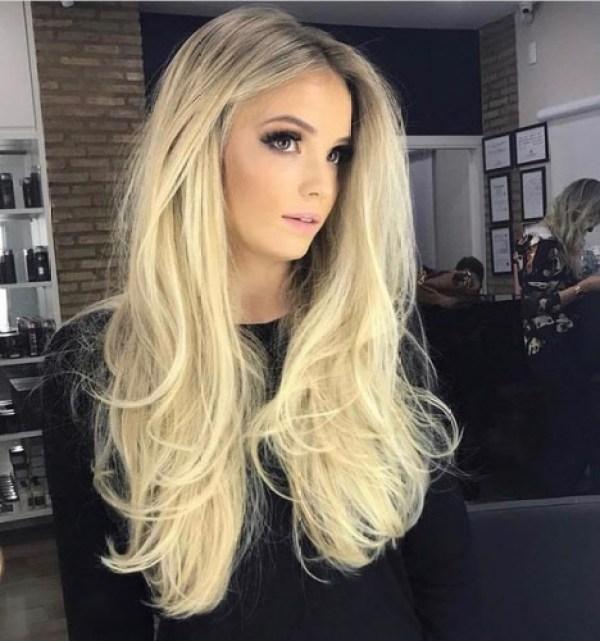 Female haircut for long hair 2020 layers
