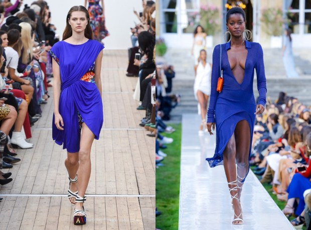 Summer Blue Cobalt Dresses