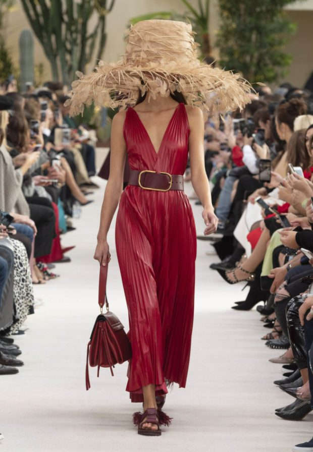 Spring summer 2020 leather dresses