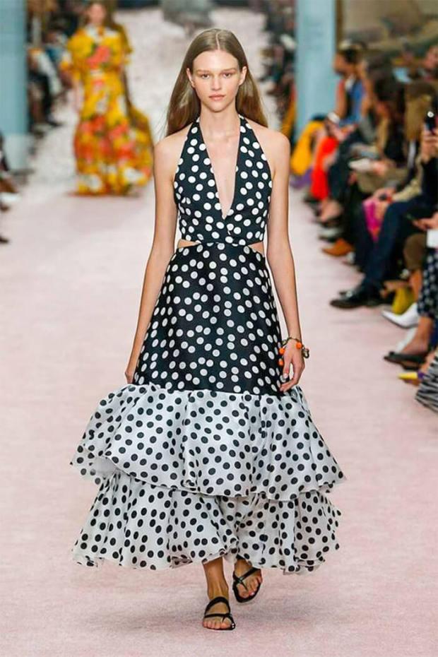 Summer polka dot dresses 2020