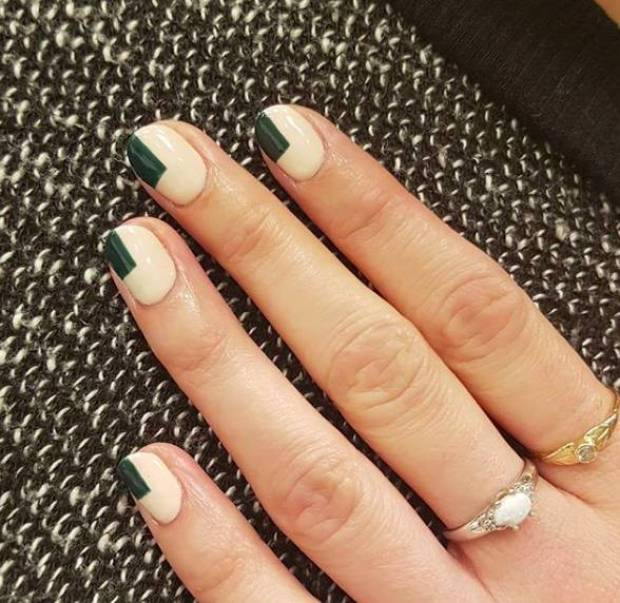 Simple and beautiful nails