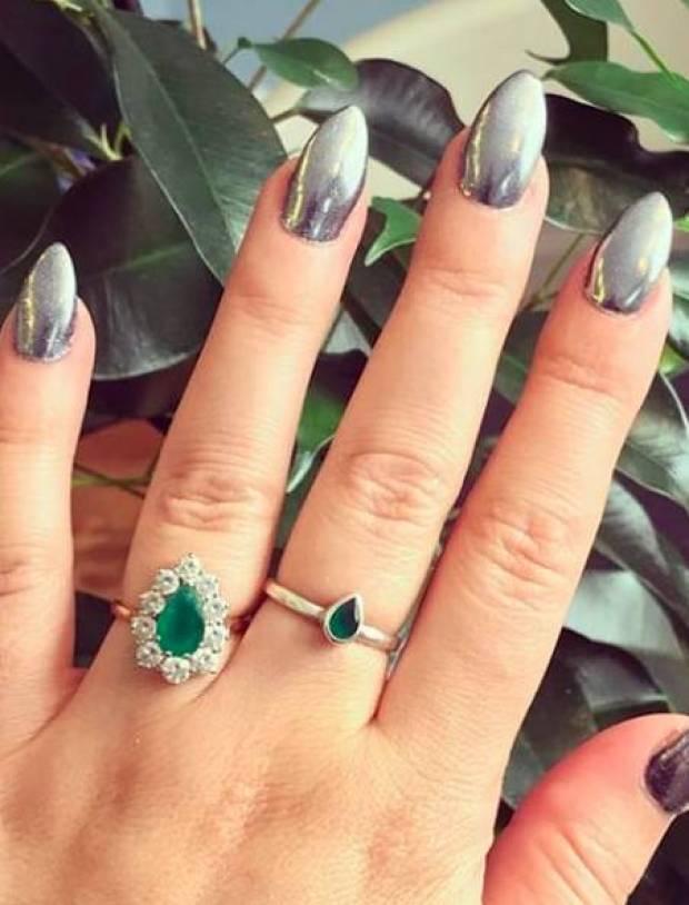 Bride nails ideas 2020
