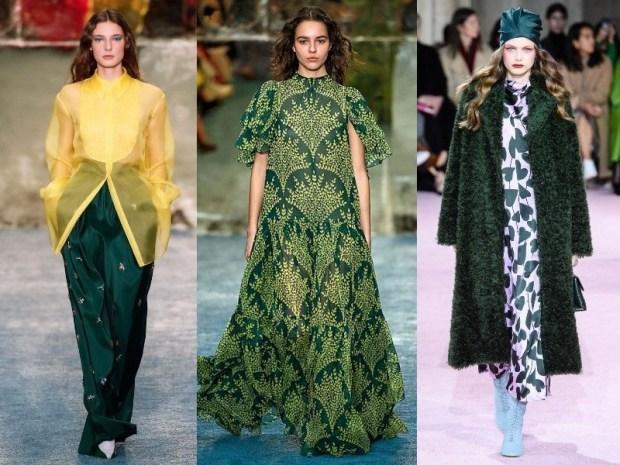 Fashion green shades 2021
