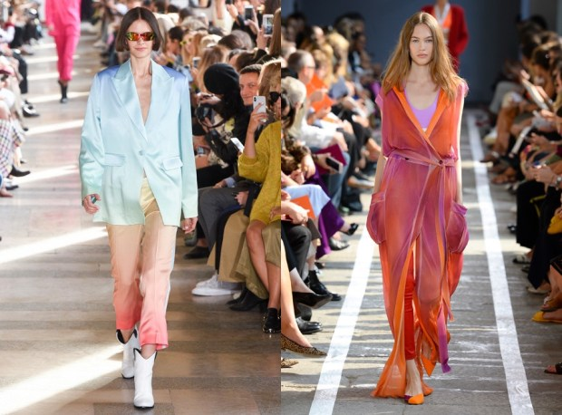 Spring summer fashion trends 2020 ombre