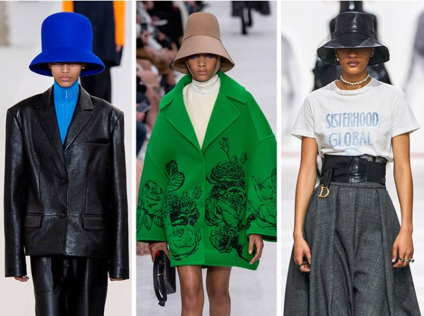 Paris fashion week fall winter 2020 2021 hats