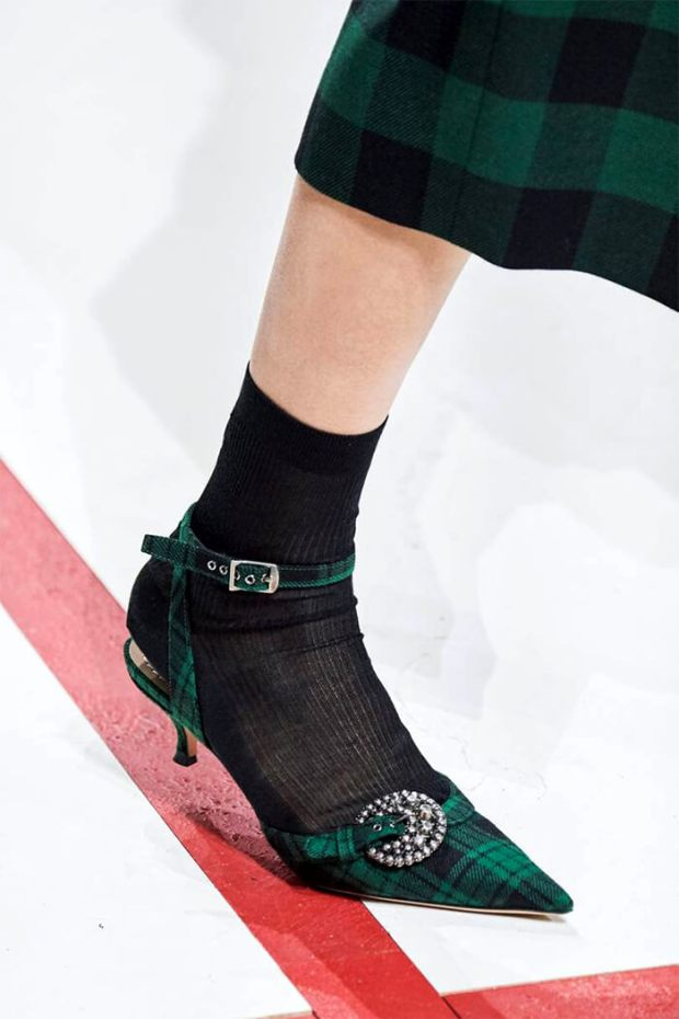 Female shoes fall 2020 winter 2021 prints