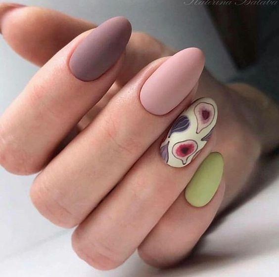 nude almond shape