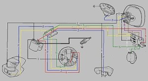Vespa Wiring Diagrams