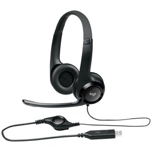 Logitech noise canceling headset