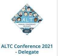ALTC delegate open badge image