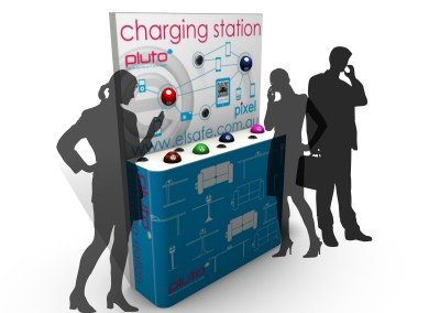 Charging station exhibtion