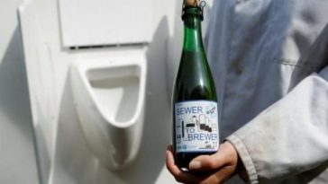 Beer made from Urine