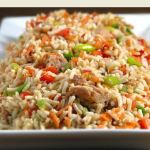 hot rice salad