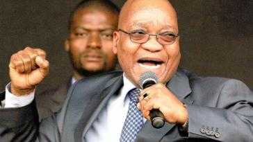 jacob Zuma speaking