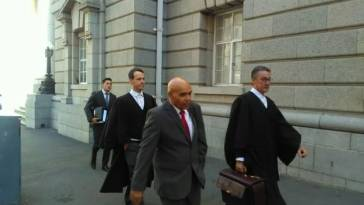 Andre Lincoln leaves Court
