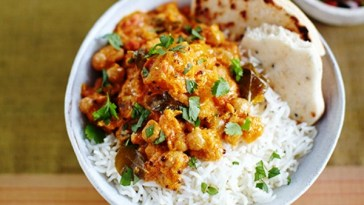 Coconut mince and rice