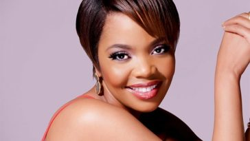 Terry Pheto smiling