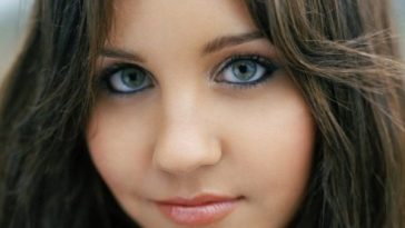 healthy and beautiful eyes
