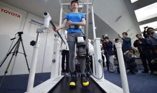 Toyota develops robotic legs