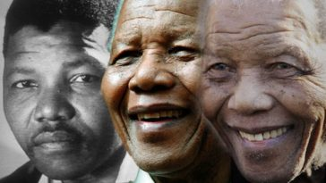 Mandela Over The Years