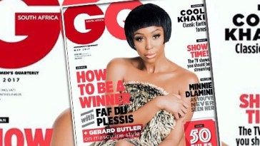 Sports Presenter, Minnie Dlamini Rocks A New Look On The Cover Of GQ South Africa!!