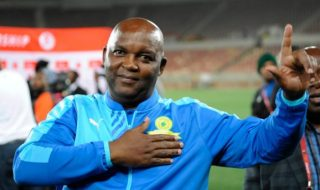 Mosimane Not Giving Up On PSL Title Race